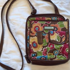 Rossetti floral crossbody purse
